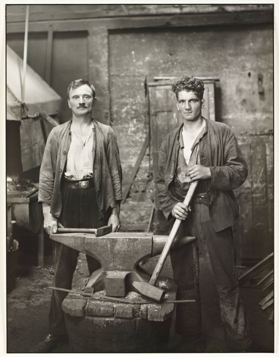 Vintage iron workers