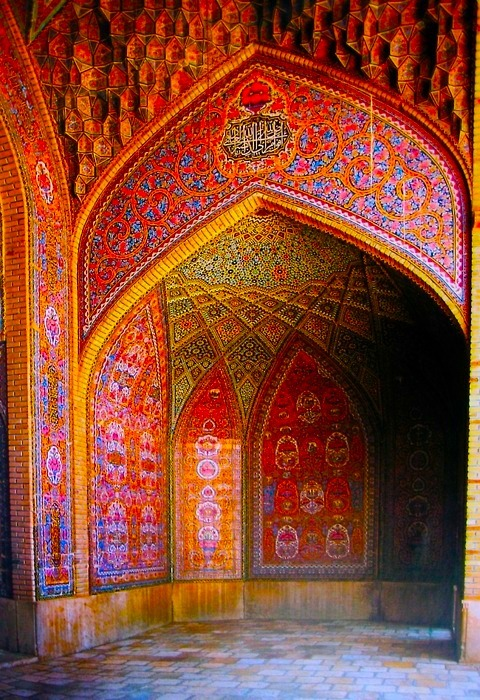 Nasir Al-Mulk Mosque, Shiraz,Iran
