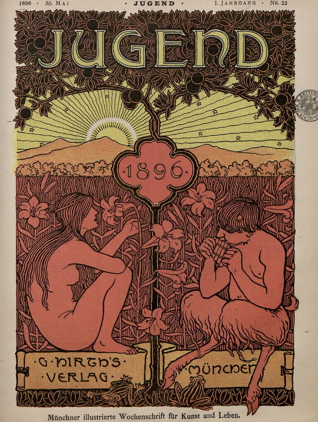 Jugend, German arts magazine, 1896