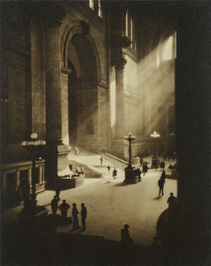 Drahomir Josef Ruzicka's photo of old Penn Station, New York City, 1919