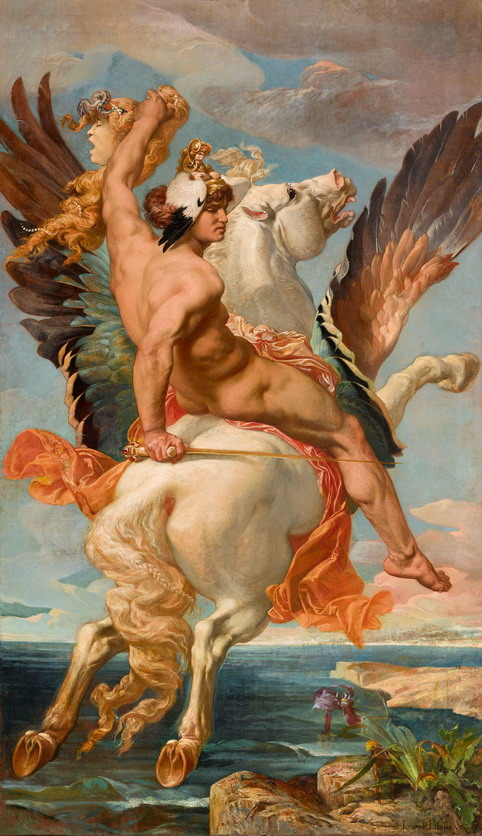 Perseus rising Pegasus by JosephBlanc