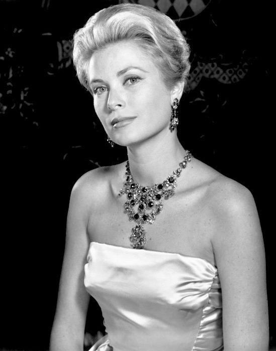 Princess Grace, photographed at the Royal Monaco Palace,1963