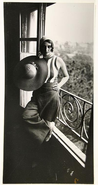 Renée Perle by Jacques Henri Lartigue,1930