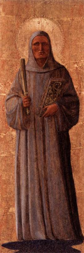 Saint Bernard of Clairvaux by Fra Angelico, 1440