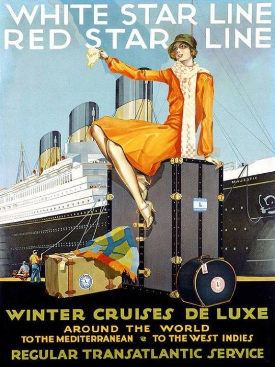 Winter Deluxe Cruises, circa 1930