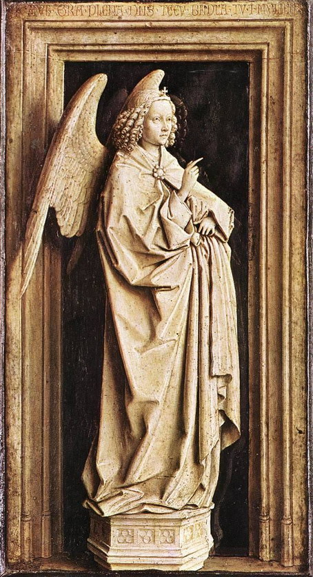 The Annunciation, by Jan van Eyck, 1440