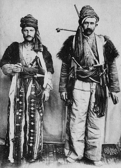 Two Assyrian men,Turkey