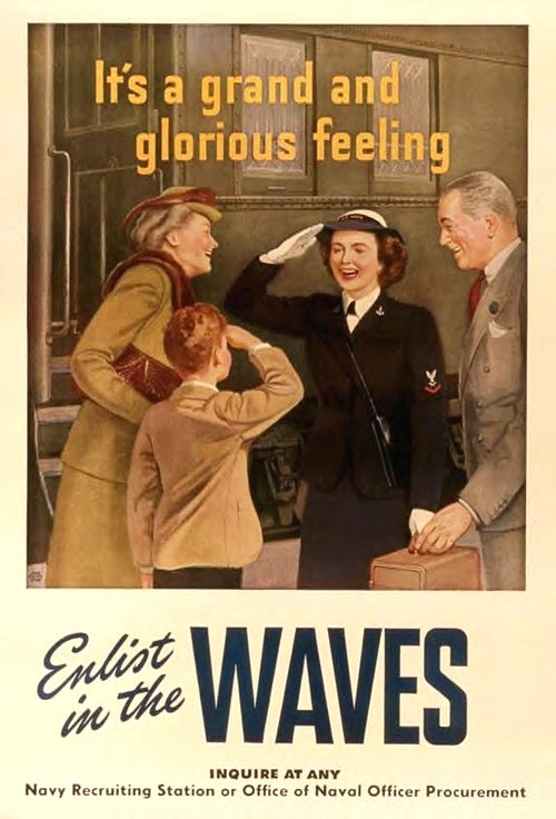 WAVES, US Navy, WWII