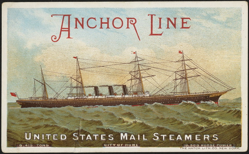 United States Mail Steamers, 1800s