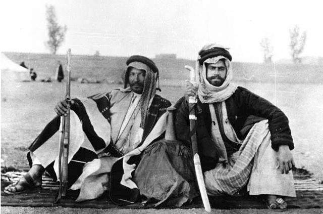 Two Saudi men,1914