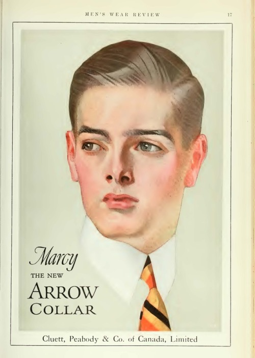 Arrow collars, circa 1910
