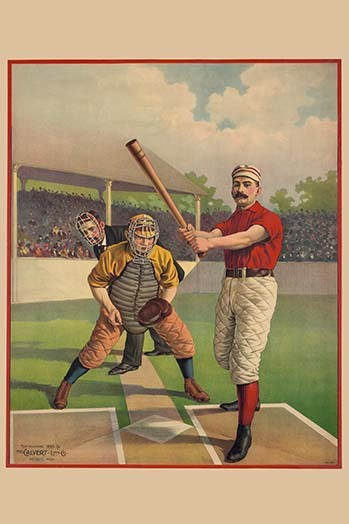 Vintage baseball, with quilted pants