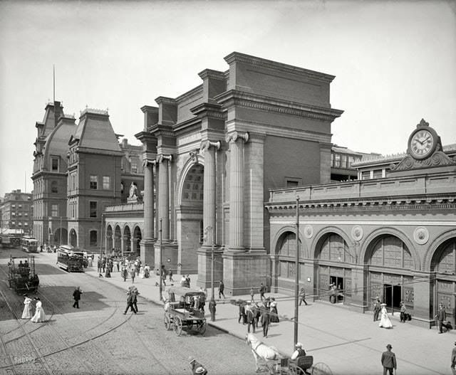 North Union Station, Boston, 1905