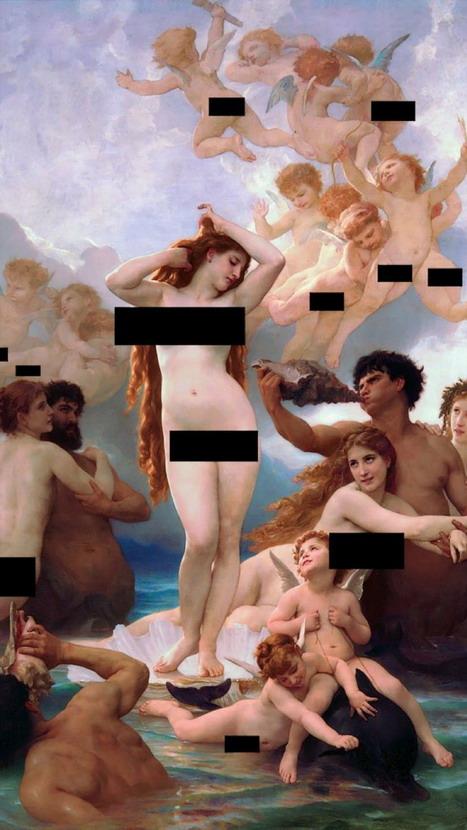 Censored art