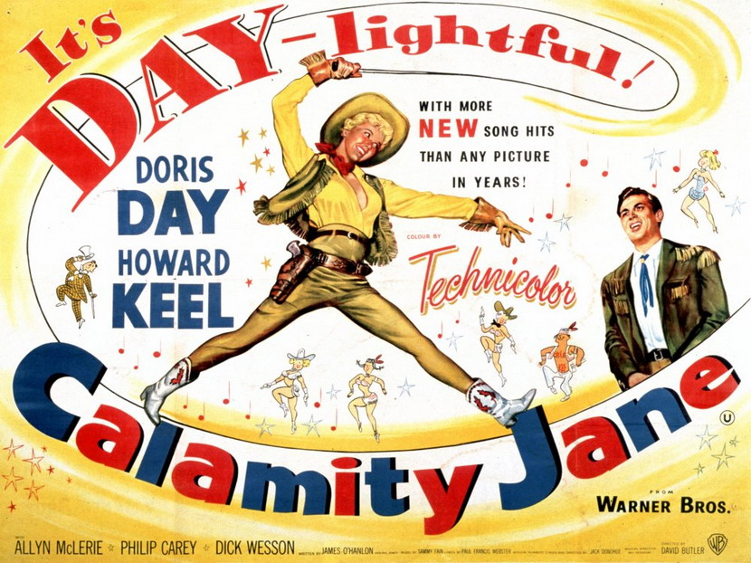 "Doris Day is… ""CalamityJane"""