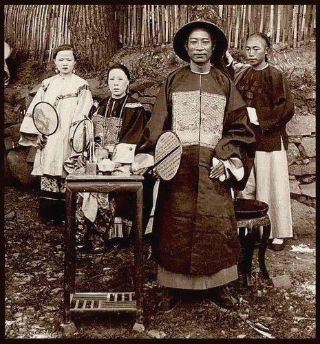 Empress Cixi of China,1881