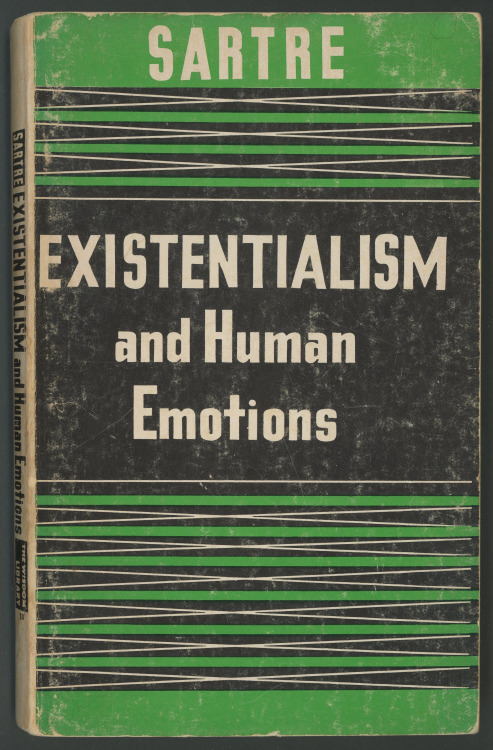 Sartre: Existentialism and Human Emotions