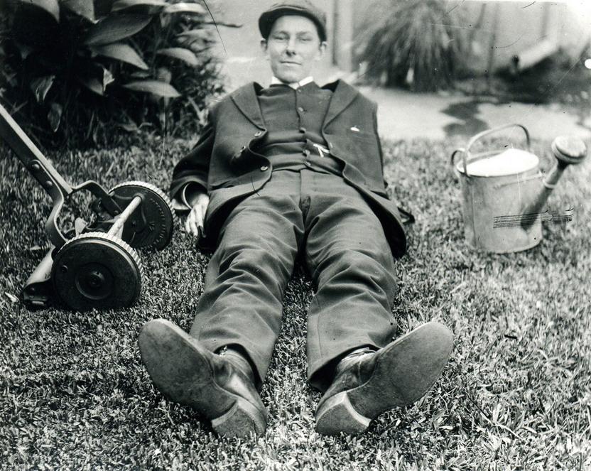 Vintage gardener