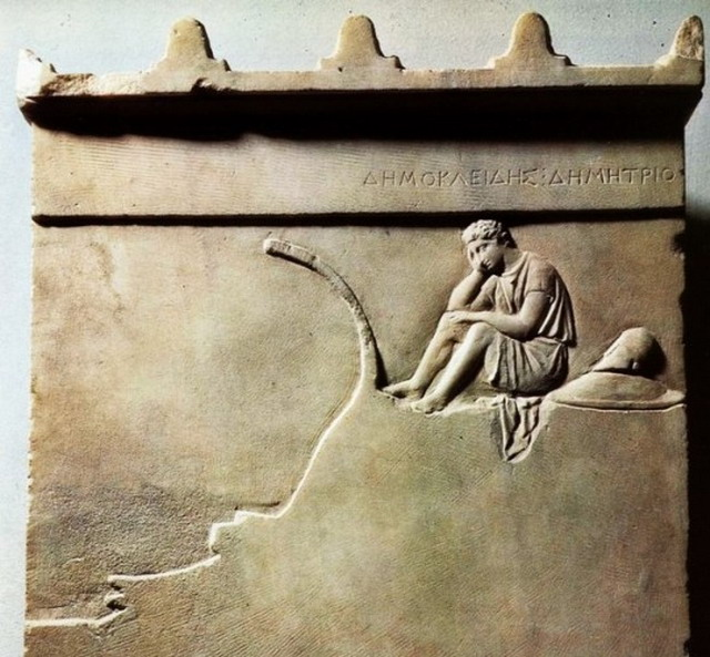 Stèle Funéraire de Démokléidès,Grece