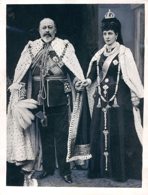 King Edward VII and Queen Alexandra, UK