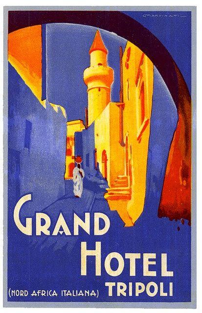 Grand Hotel, Tripoli, Libya,1920s