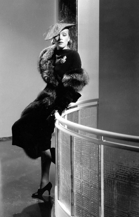German-American Actress Marlene Dietrich, 1930s