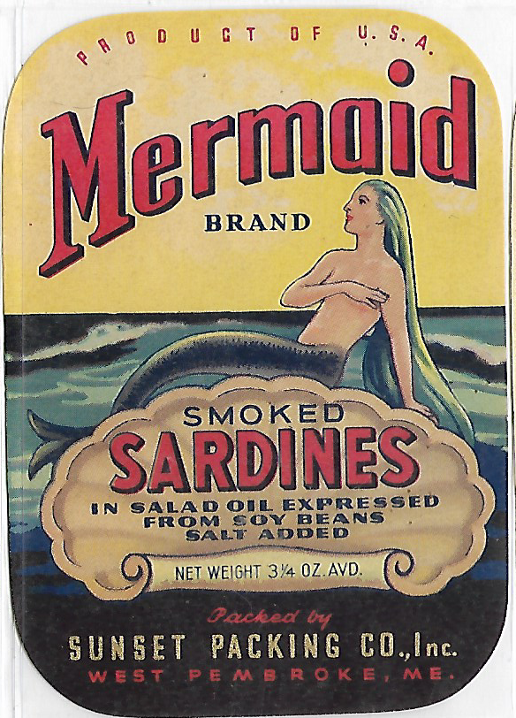 Mermaid Sardines, Maine