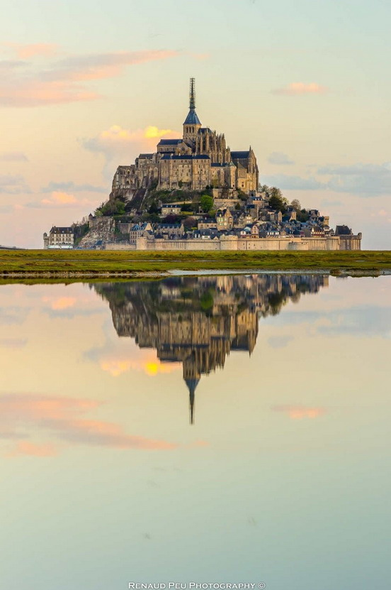 Mont St. Michel, Normandie, France