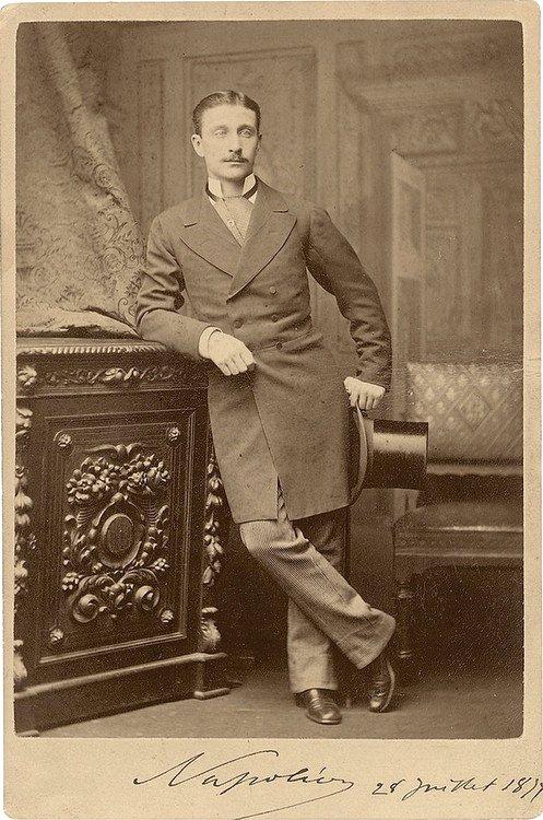 Napoleon Eugene Bonaparte, France,1877