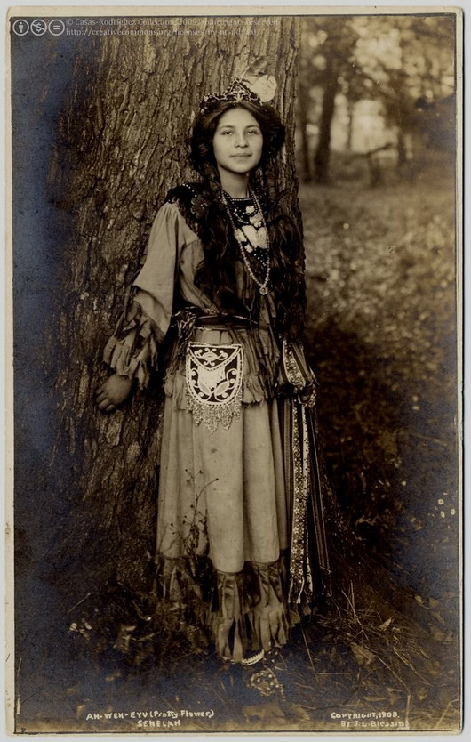 Native North American Woman, Seneca