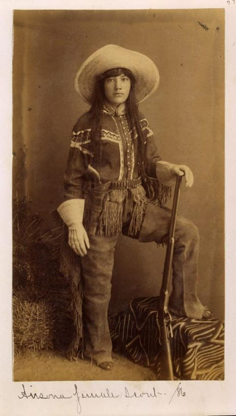 Female Native American Scout