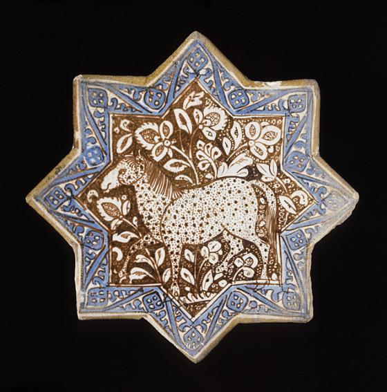 Ancient Persian tile