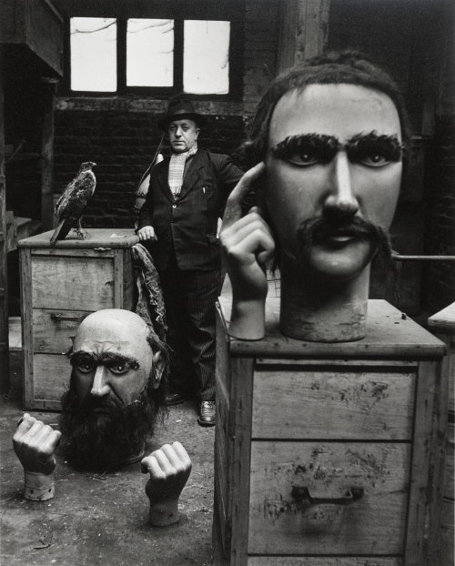 """Robert Doisneau, """"Les Géants du Nord"""", France,1951"""