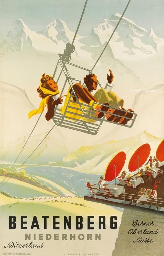 Ski Switzerland, 1930s