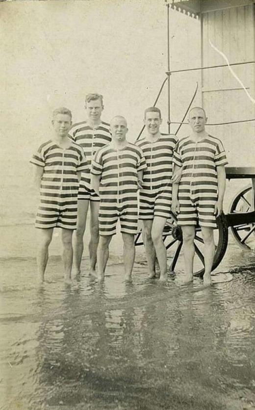 Men's Swimwear, 1905