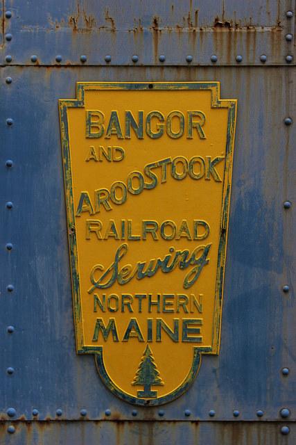 Bangor & Aroostook Railroad,Maine