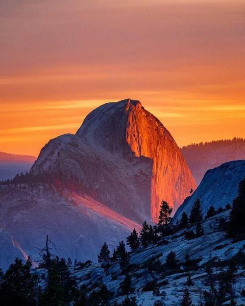 Half Dome, Yosemite,California