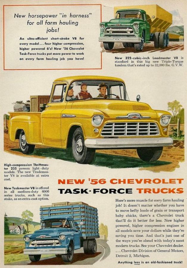 1956 Chevrolet Trucks