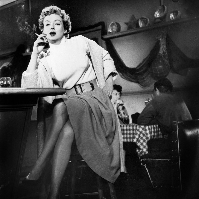 "Film Noir: Evelyn Keyes in ""99 River Street"", 1953"