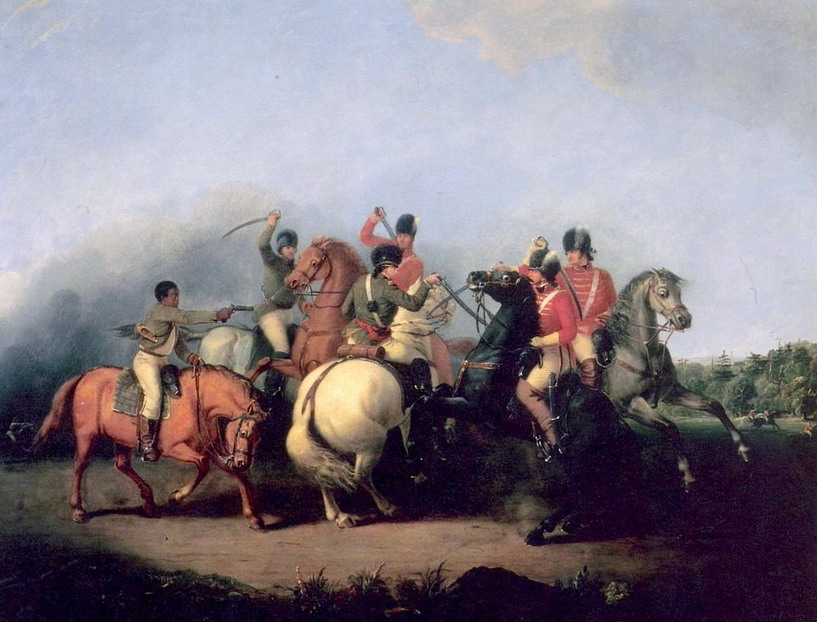 Battle at Cowpens, South Carolina – American Revolution – 1781