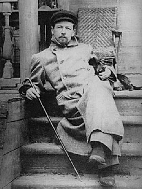 Russian writer AntonChekov