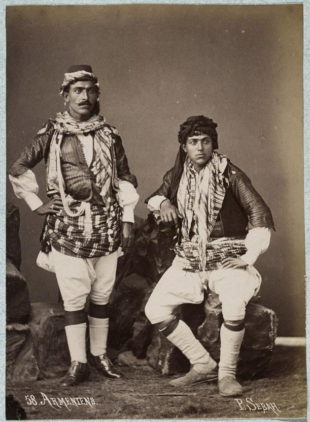 Armenian men, 1875