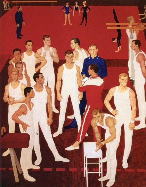 Soviet athletes