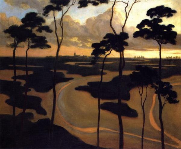 """""""Blythburg, The Estuary"""" by Robert Fry,1892"""