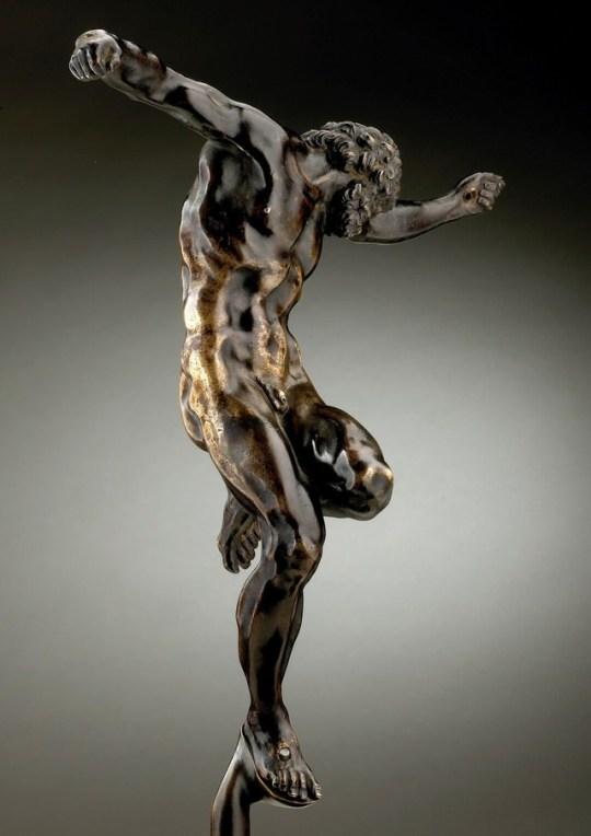 19th Century casting of a Michelangelostatue