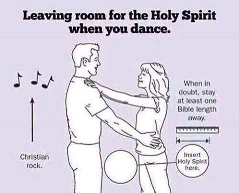 Christian dancing: When in doubt, stay at least one bible length away