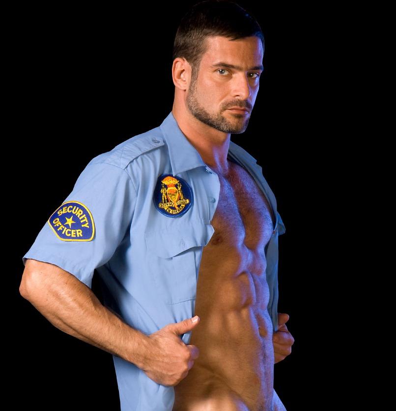 Policeman gay porn uniform
