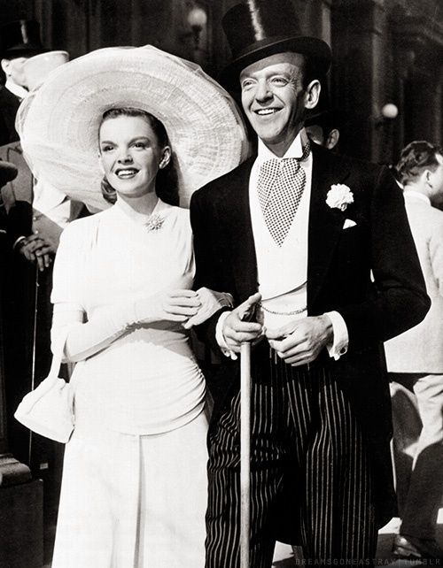 "Judy Garland and Fred Astaire in ""Easter Parade"""