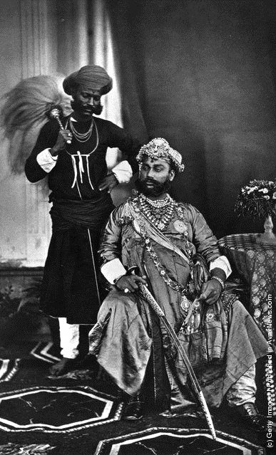 His Highness, the Maharajah Holkar of Indore