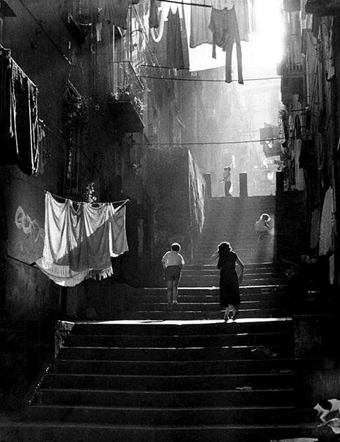 Napoli, Italia, 1950s